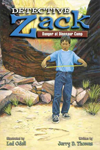 Detective Zack Danger at Dinosaur Camp