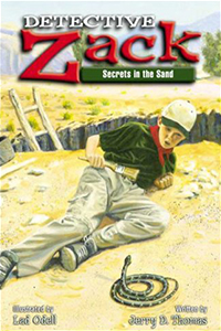 Detective Zack Secrets in the Sand
