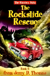 The Rockslide Rescue (The Shoebox Kids)