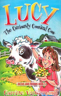 Lucky the Curiously Comical Cow