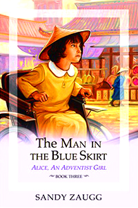 The Man in the Blue Skirt