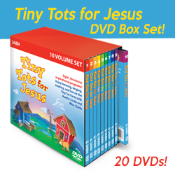 New Tiny Tot Box DVD Set